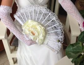 6-270x210 זר כלה מניפה מפרחי משי - פרח לבן
