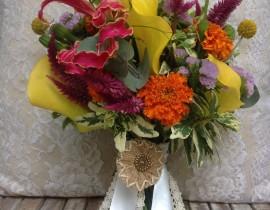 11111-270x210 זר כלה מפרחי הסתיו היפים 2#