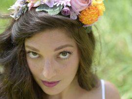 DSC5466-270x203 קשת לשיער מתפרחות של מגוון פרחים צבעוניים